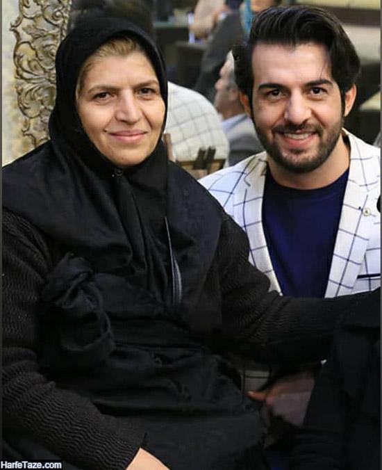 عبدالله روا و مادرش