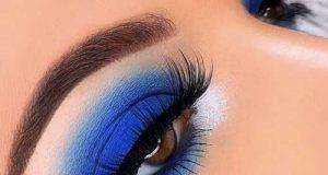 مدل آرایش چشم آبی کلاسیک ۲۰۲۰ – ۹۹
