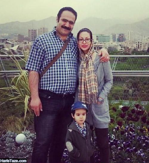 عکس بهادر مالکی و همسرش