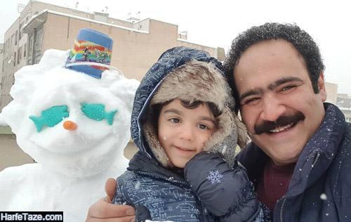 عکس های بهادر مالکی بازیگر