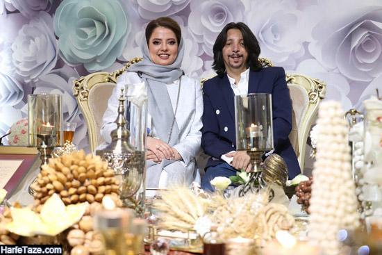 عکس مراسم عقد فرهاد ایرانی و همسرش مهسا ایرانی