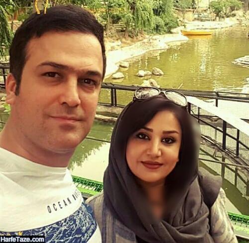 تصاویر جدید حامد آهنگی کمدین و همسرش