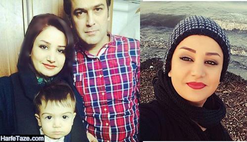 صفورا آغاسی همسر حامد آهنگی
