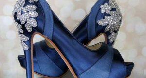 مدل کفش مجلسی آبی کلاسیک ۲۰۲۰ – ۹۹