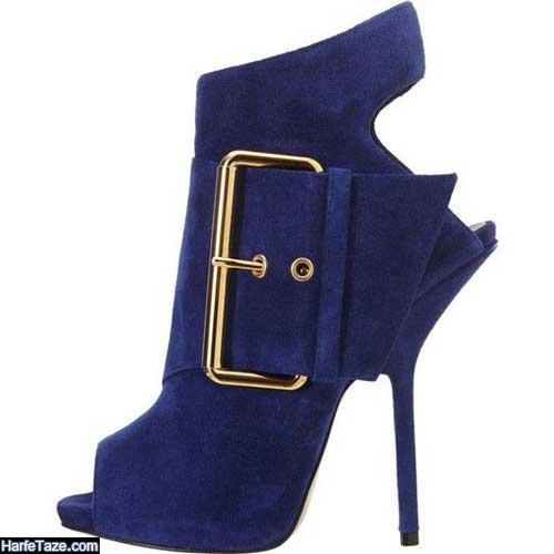 مدل کفش مجلسی آبی کلاسیک ۲۰۲۰ - ۹۹