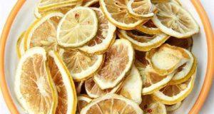 خشک کردن لیمو در خانه | نگهداری و موارد مصرف لیمو خشک