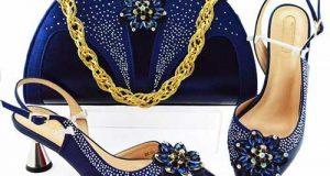 ست کیف و کفش آبی کلاسیک ۲۰۲۰ – ۹۹