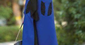 مدل مانتو رنگ آبی کلاسیک ۲۰۲۰ – ۹۹