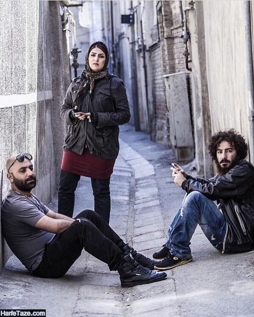 عکس های بازیگر نقش مهران در سریال دل