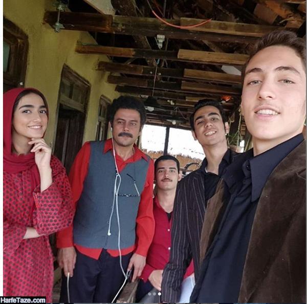 تصاویر میلاد حسین پور در سریال وارش