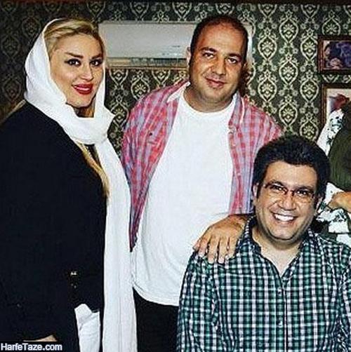 عکسهای نغمه مهرپاک و همسرش رضا رشیدپور