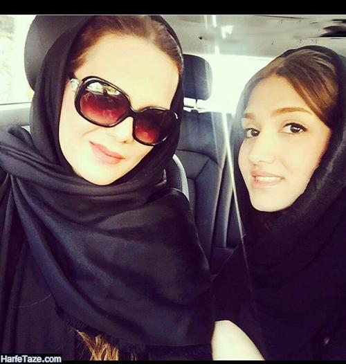تصاویر آوا منصوری دختر پرند زاهدی