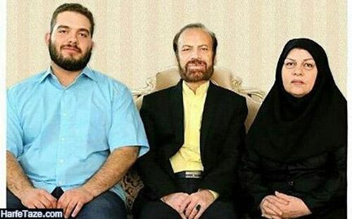 عکس همسر و پسر سید قاسم موسوی قهار