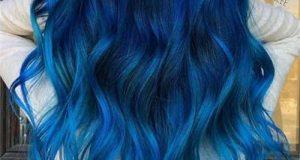 مدل رنگ مو آبی کلاسیک ۲۰۲۰ – ۹۹