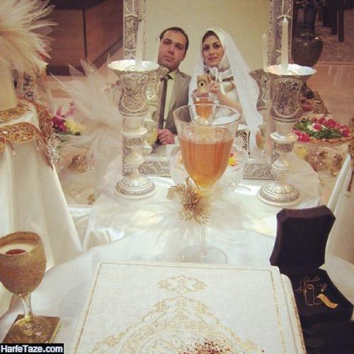 تصاویر همسر ساجده سلیمانی مجری
