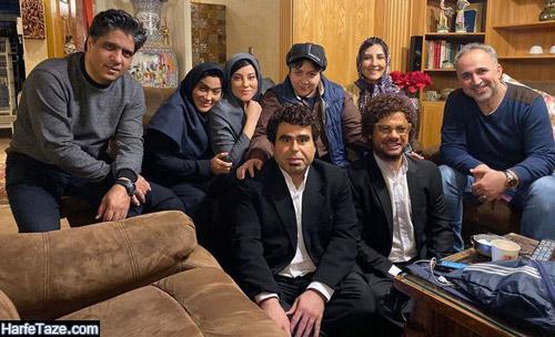 عکسی از بازیگران سریال موچین