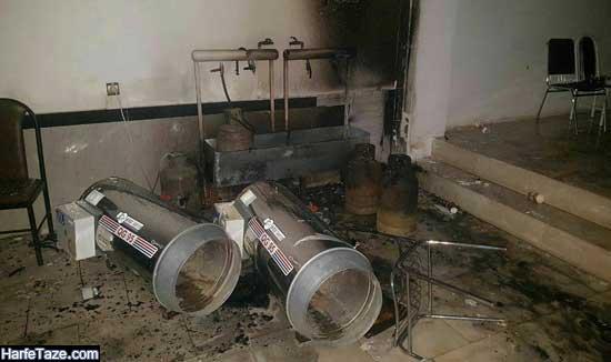 انفجار تالار