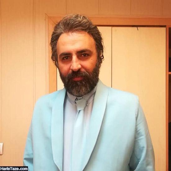 عکس شخصی تینو صالحی بازیگر