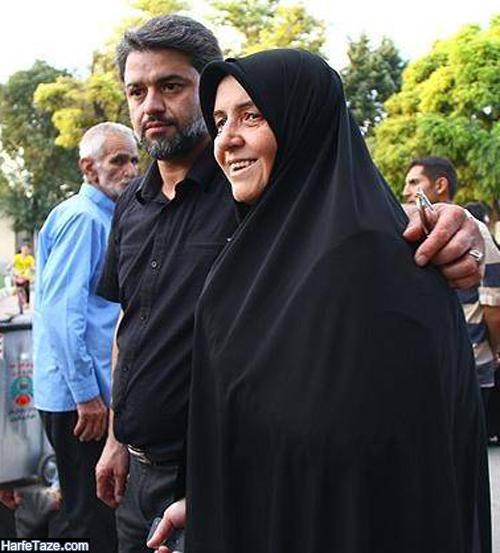 بیوگرافی و عکسهای شهید عباس بابایی و همسرش ملیحه حکمت + نحوه شهادت و فرزندان