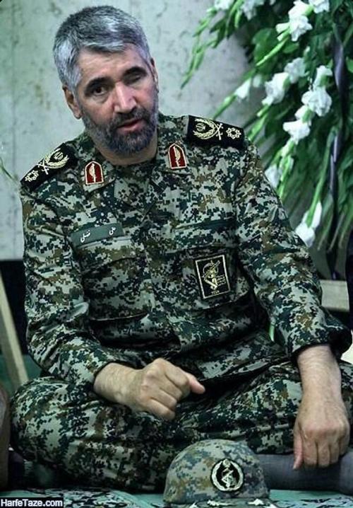 زندگینامه سردار علی فضلی