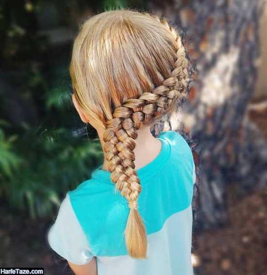 بافت مو بچگانه جدید 2020