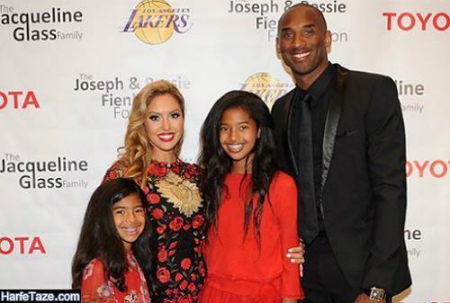 تصاویر اینستاگرامی کوبی برایانت بسکتبالیست آمریکایی و همسرش