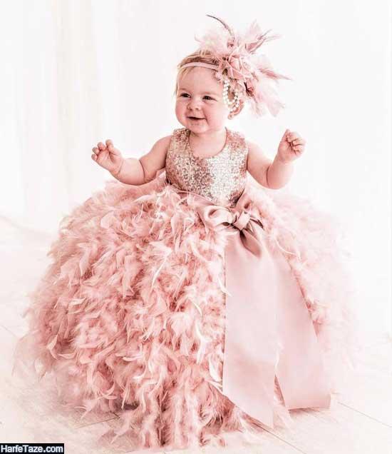 مدل لباس پرنسسی بچه گانه جدید ۲۰۲۰