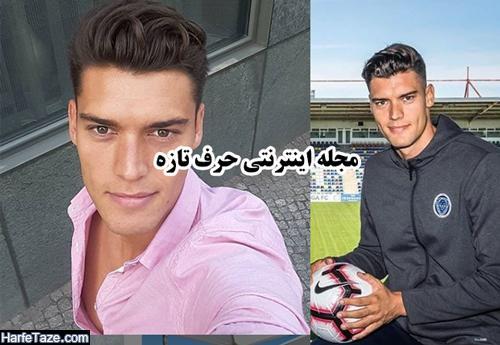 عکسهای مدلینگ میروسلاو اسلاووف بازیکن فوتبال اوکراینی