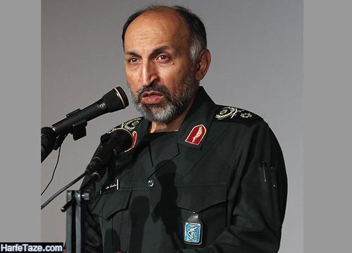 تصاویر سردار محمد حجازی جانشین فرمانده سپاه قدس