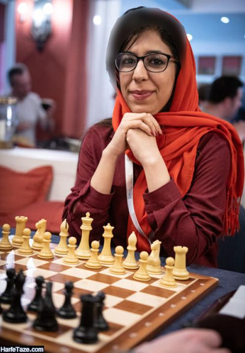 شهره بیات داور شطرنج | بیوگرافی و عکسهای شهره بیات و همسرش + مهاجرت و عکس بی حجاب