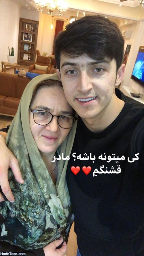 عکسهای مادر سردار آزمون