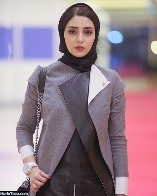 بیوگرافی هستی مهدوی فر بازیگر نقش اکرم در سریال جراحت