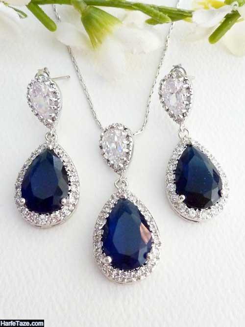مدلهای شیک و زیبای جواهرات آبی کلاسیک ۲۰۲۰ -۹۹