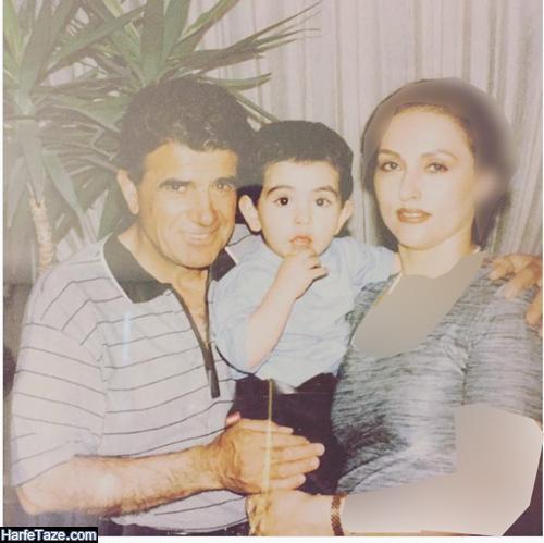 عکسهای جوانی کتایون خوانساری همسر دوم محمدرضا شجریان