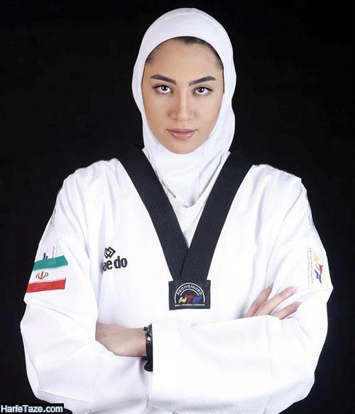 بیوگرافی و عکسهای کیمیا علیزاده تکواندوکار و همسرش حامد معدنچی