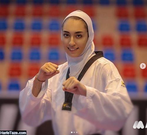 عکسهای کیمیا علیزاده تکواندوکار