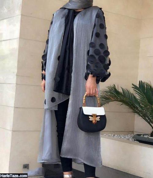 مدل مانتو عید 99 بلند مجلسی دخترانه