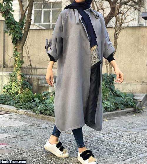 مدل مانتو عید 99 زنانه با وقار و سنگین