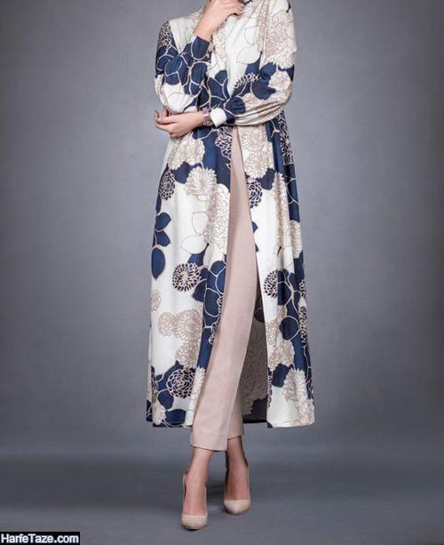 مدل مانتو عید 99 لاکچری دخترانه بلند