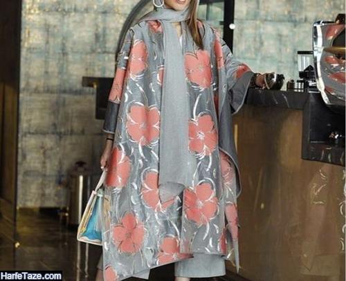 مدل مانتو گلدار 99 جدید برای عید