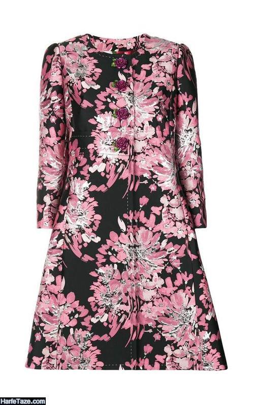 جدیدترین مدلهای مانتو گلدار 99 اسپرت زنانه