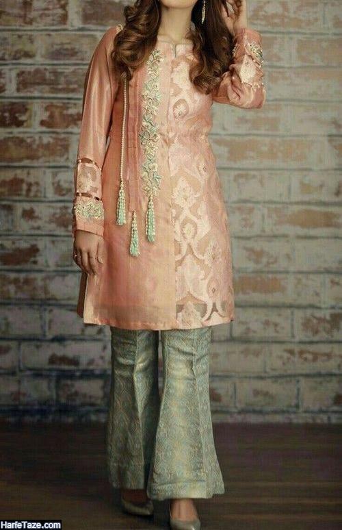 مدل مانتو گلدار 99 برای نامزدی