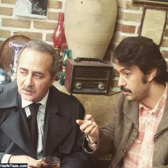 رضا آبپاک | عکسها و بیوگرافی رضا آبپاک بازیگر سریال جلال