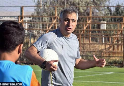 اینستاگرام ساکت الهامی سرمربی فوتبال