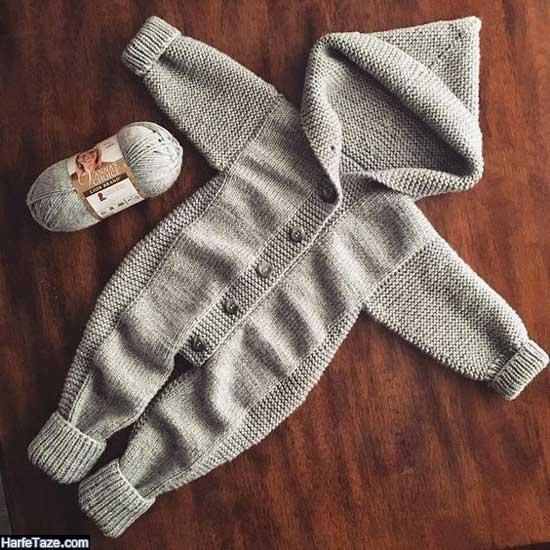 تصاویر سرهمی بافتنی نوزاد