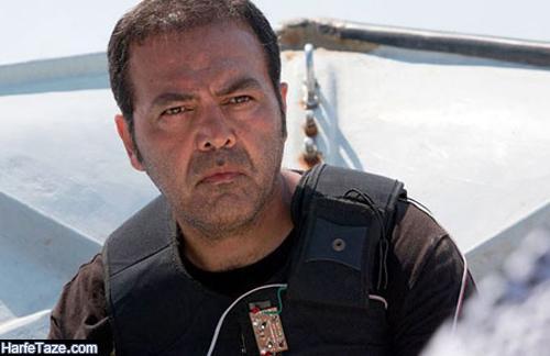 فریبرز عرب نیا کارگردان سریال رنگ شک