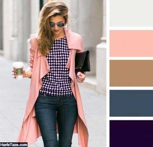 قوانین و اصول ست کردن لباس همراه با رنگ شناسی
