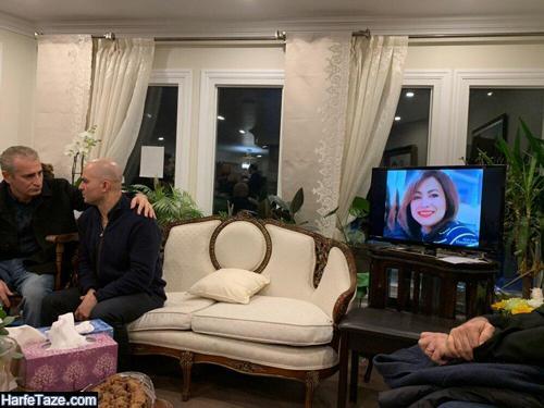 شاهین مقدم پدر راستین قربانی سقوط هواپیمای اوکراینی