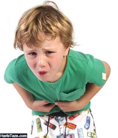شربت دل درد کودکان