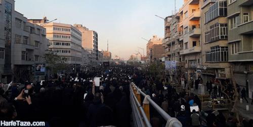 تشییع سپهبد سلیمانی در تهران